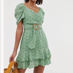Wrap Double Layer Dress
